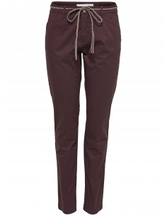 Onlgarland chino belt pant bordeaux