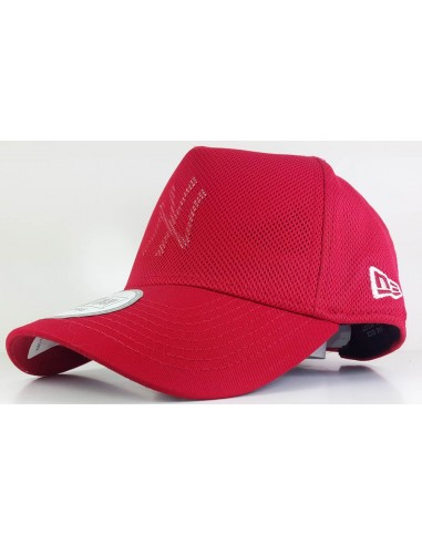 casquette homme Newera rouge Mlb - cut out mesh neyyan sca