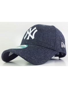 casquette homme Newera gris foncé Mlb - wool fleckle 9forty neyyan grhwhi