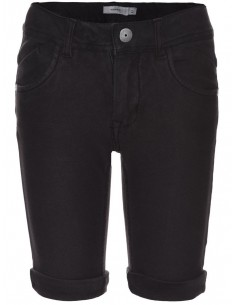 Jeans enfant Name It noir Nitjon slim twill long shorts nmt