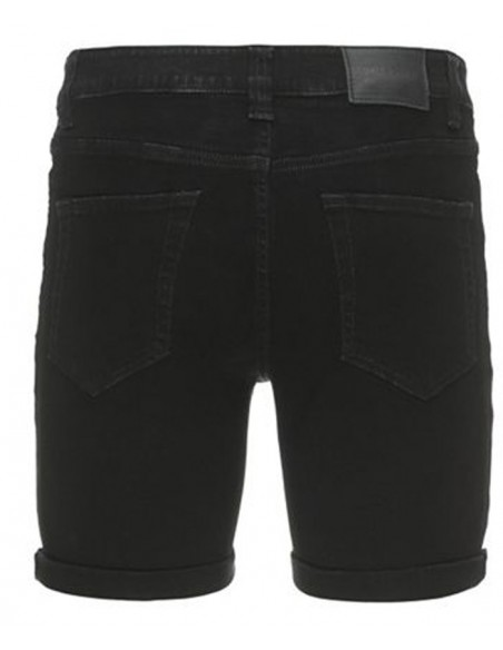 Onsloom shorts 3839 black jean's noir only&sons