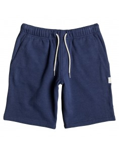 Rebel short enfant DC bleu marine