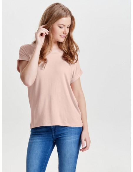 top Only rose Onlmoster s/s o-neck top noos jrs