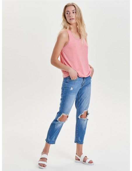 Top Only rose Onlliza s/l top ess