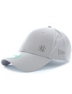 casquette réglable homme Newera gris Mlb flawless logo basic 940 newyork yankees
