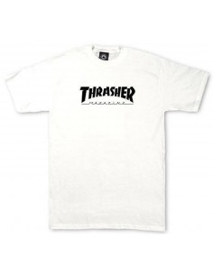 t-shirt enfant blanc Youth thrashert-shirt skate mag white