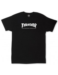 t-shirt enfant noir Youth thrashert-shirt skate mag black