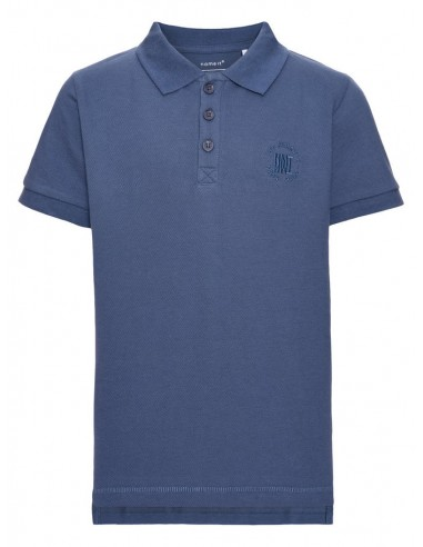 polo enfant Name It bleu Nitjolid ss polo  nmt