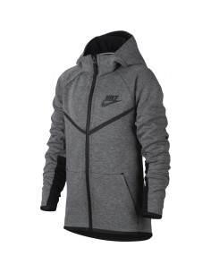 Boys' nike sportswear tech fleece windrunner hoodi