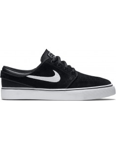 Skate shoes enfant NIKE SB 525104-021 noir Boys' stefan janoski (gs) skateboarding shoe 525104-021