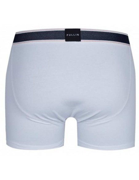 CALECON HOMME PULL IN BLANC MASTER COTON WHITE