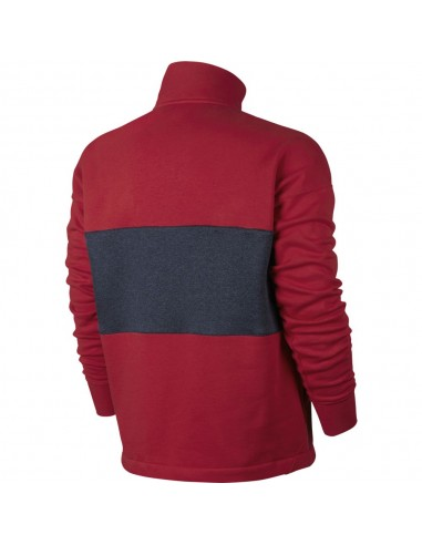 sweat zippé homme Nike rouge MEN'S NIKE AIR TOP
