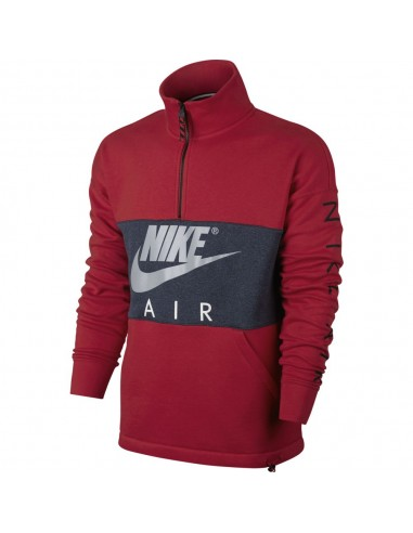 sweat homme Nike rouge MEN'S NIKE AIR TOP