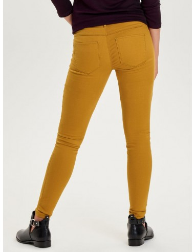 jean's skinny femme Only jaune ONLRAIN REG SK NEW COLOUR PANT PNT NOOS