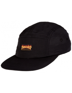 Thrasher cap flame logo 5-panel