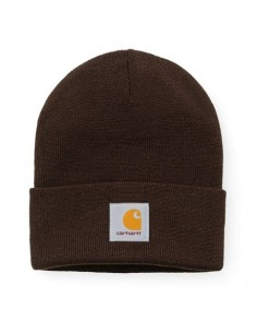 bonnet Carhartt marron ACRYLIC WATCH HAT