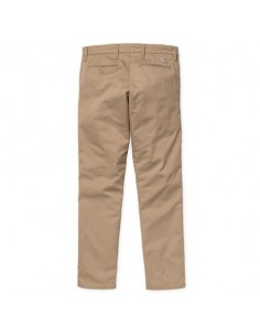 pantalon chino homme beige SID PANT