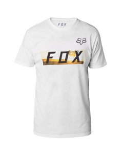 tee-shirt homme Fox blanc Ghostburn ss tech tee
