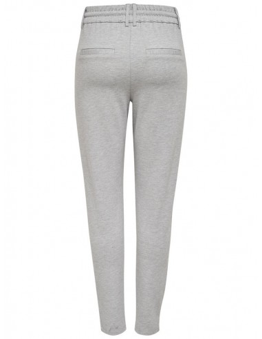 pantalon Only gris clair Onlpoptrash easy colour pant pnt noos