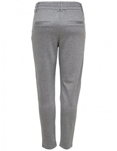 pantalon Only gris Onlpoptrash easy colour pant pnt noos