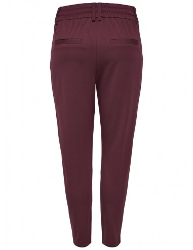pantalon Only bordeaux Onlpoptrash easy colour pant pnt noos