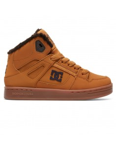 basket enfant DCSHOES marron Rebound wnt
