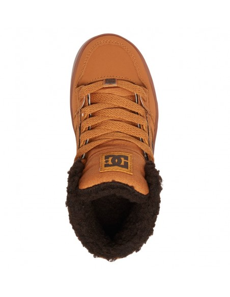 skate shoes enfant DCSHOES marron Rebound wnt