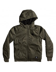 veste enfant DCSHOES vert Ellis jacket 4 boy