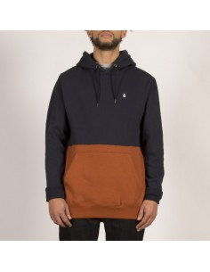 sweat homme volcom marron Sngl stone division