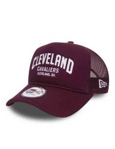 casquette homme New era bordeaux Chainstitch trucker clecav