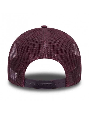 casquette homme Newera bordeaux Chainstitch trucker clecav