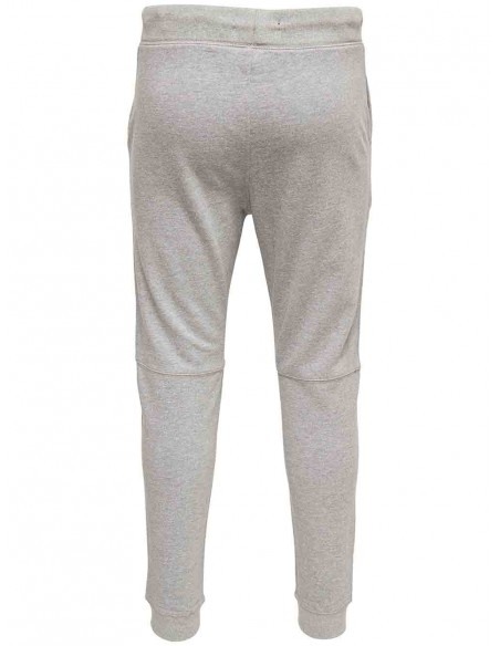 pantalon Only&Sons gris Onsfiske sweat pants brushed noos