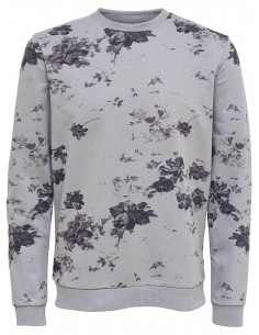 Onstim flower print sweat