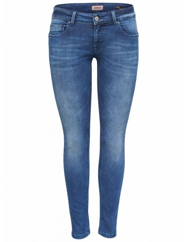 jean's femme Only bleu Onldylan low push up  dnm jea soo65noos