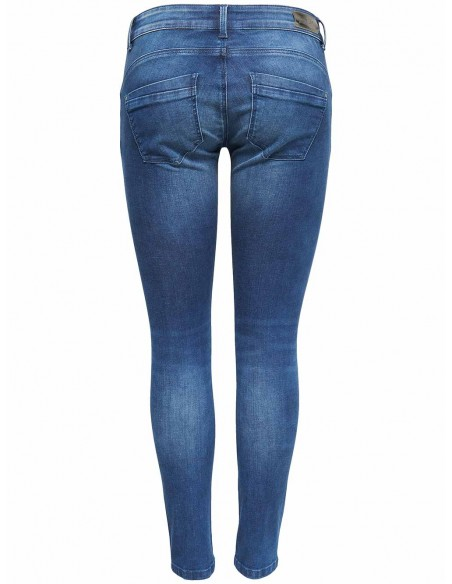 jeans femme Only bleu Onldylan low push up  dnm jea soo65noos