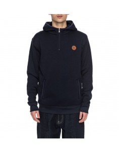 sweat capuche homme DC SHOES Elby bleu marine