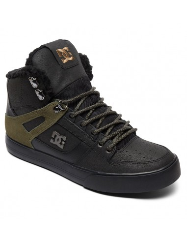 basket homme montantes DC SHOESnoir Spartan high wc wnt ADYS400005-BVE