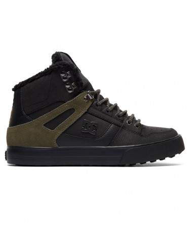 skate shoes homme montantes DC SHOESnoir Spartan high wc wnt ADYS400005-BVE