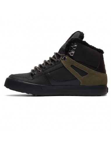 skate shoes homme DC SHOESnoir Spartan high wc wnt ADYS400005-BVE