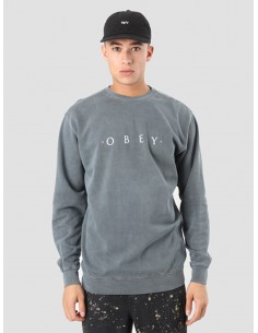 sweat homme OBEY noir Novel obey