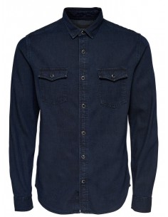 Onsboye ls slim denim shirt noos