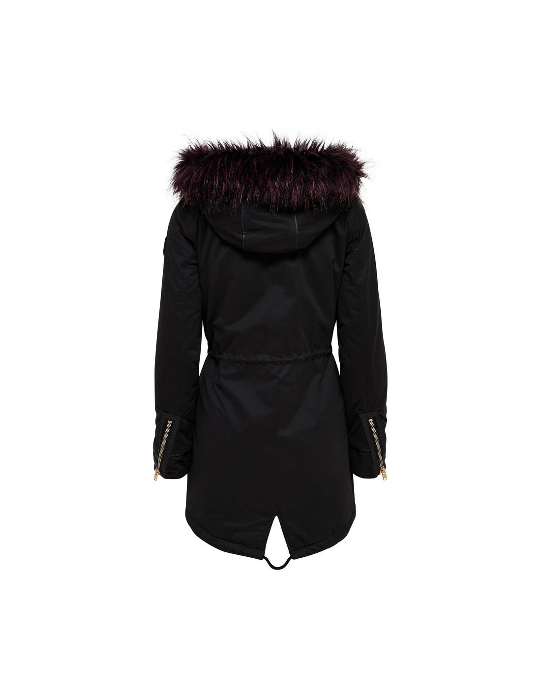 16ebc56c8 Veste ONLY - Onlcamilla fur parka otw Black - Ultimate