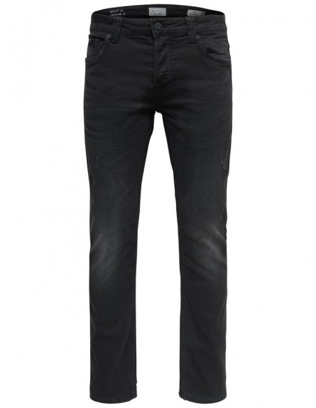 jogg jeans homme Only&Sons noir Onsloom jogger exp