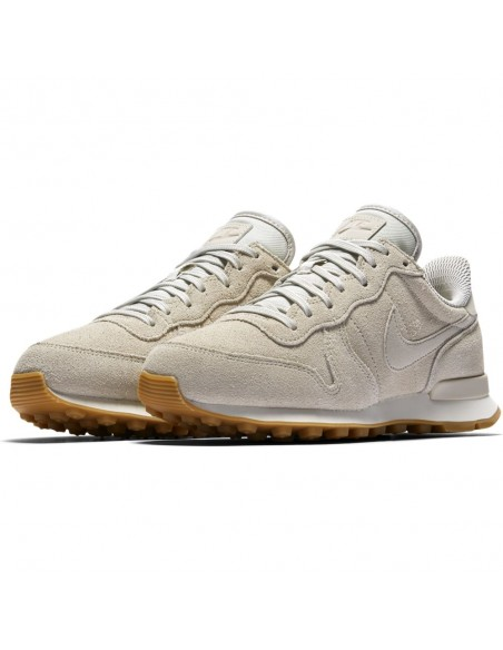 chaussure femme nike beige  872922-004 Women's nike internationalist se shoe