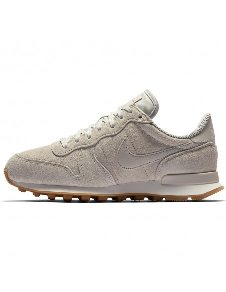 basket femme nike beige  872922-004 Women's nike internationalist se shoe