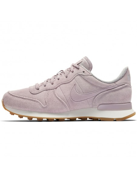 basket femme nike internationalist rose