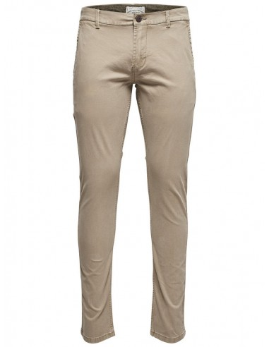pantalon chino homme Only&Sons beige Onstarp chino 8463