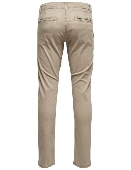 pantalon homme Only&Sons beige Onstarp chino 8463