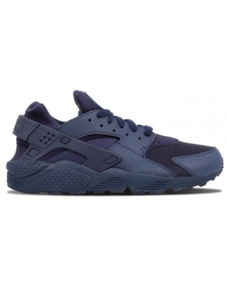 Men's nike air huarache shoe navy bleu