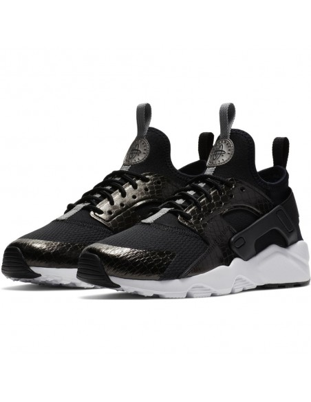 sneaker  Nike noir Boys' nike air huarache run ultra (gs) shoe 847569-021
